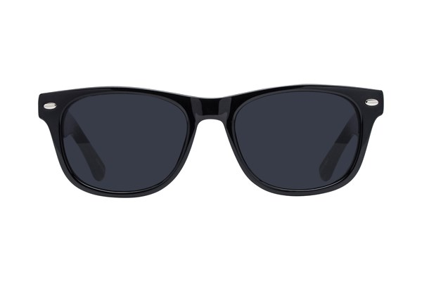 Lunettos Benson Black Sunglasses