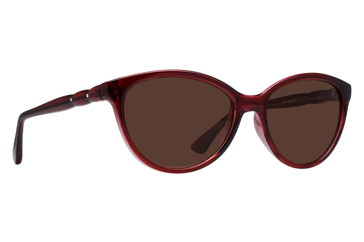 Lunettos Ariel Red Sunglasses