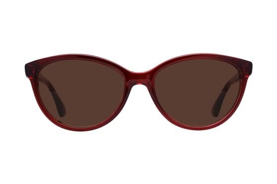 Lunettos Ariel Red Sunglasses