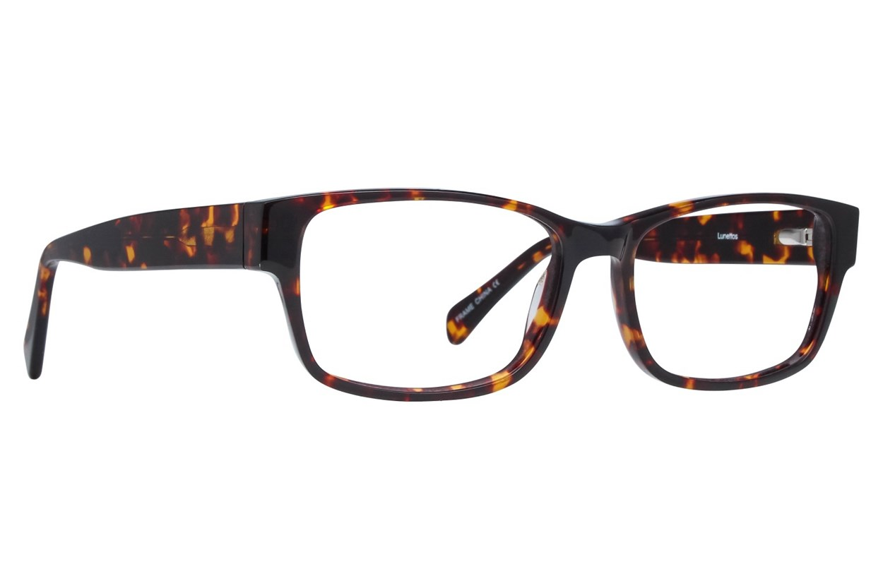 Lunettos Taylor Large Tortoise Eyeglasses