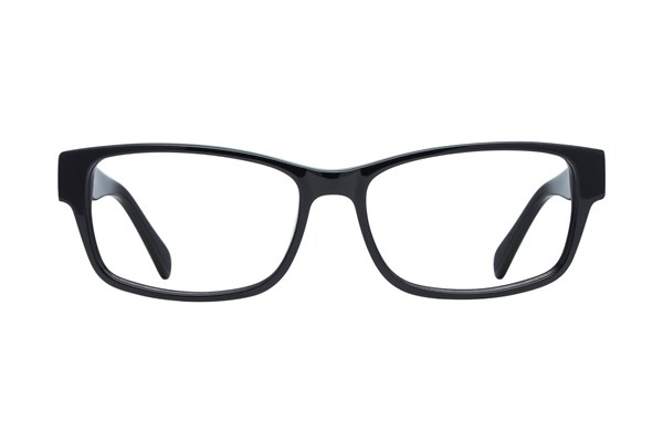 Lunettos Taylor Large Black Eyeglasses