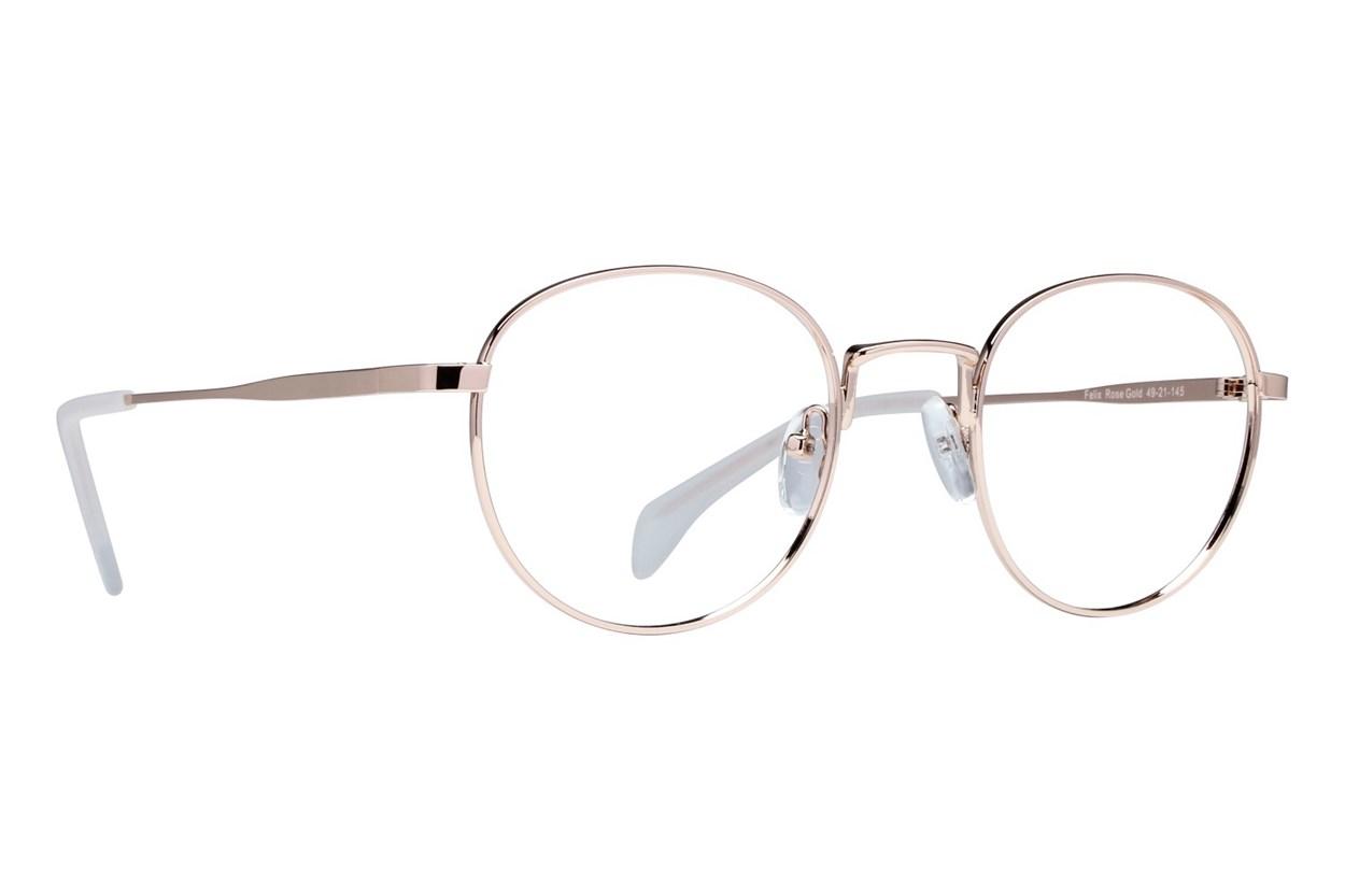Lunettos Felix Pink Eyeglasses