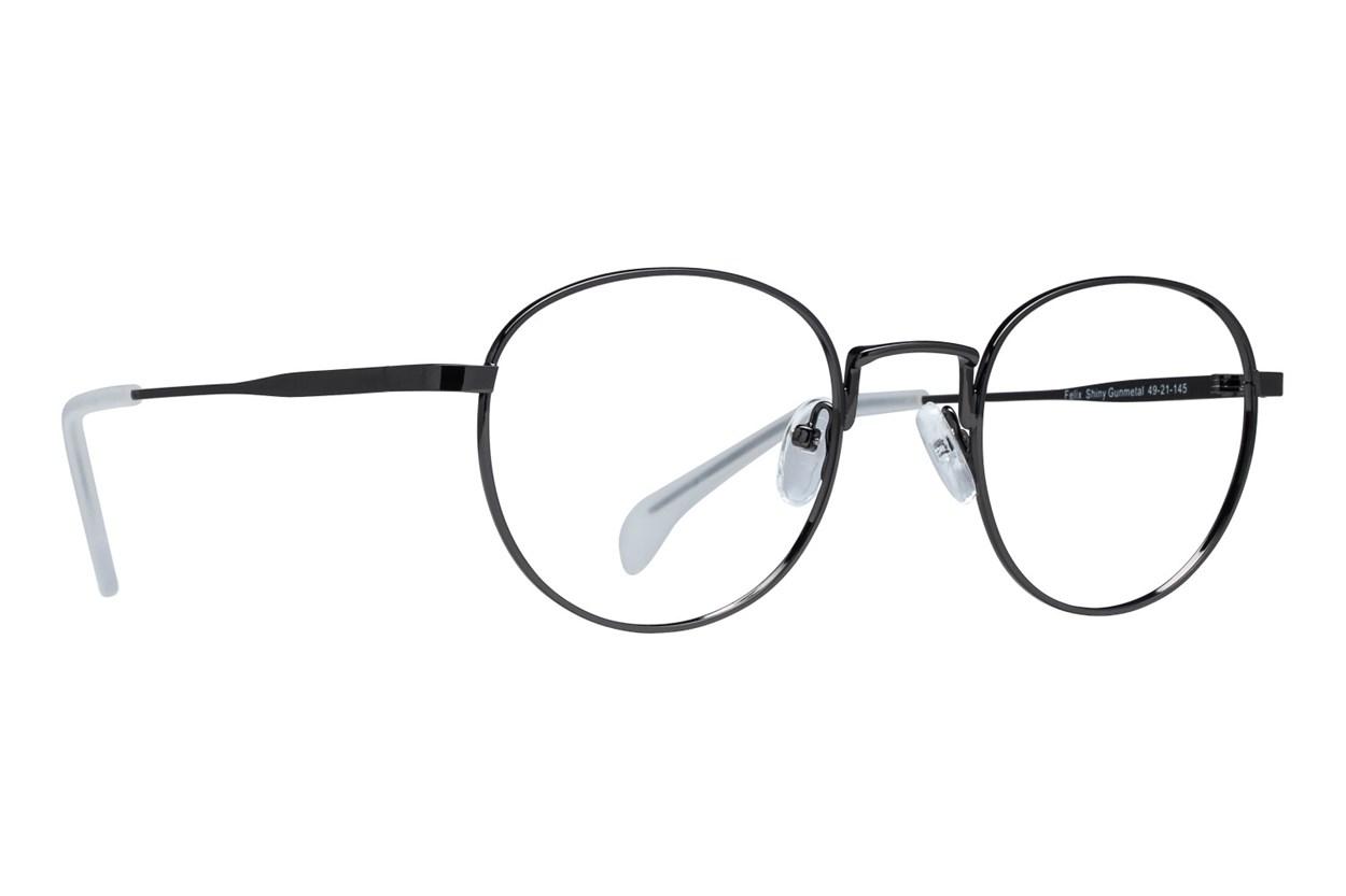 Lunettos Felix Gray Eyeglasses