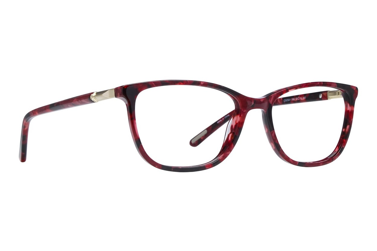 Covergirl CG0541 Red Eyeglasses