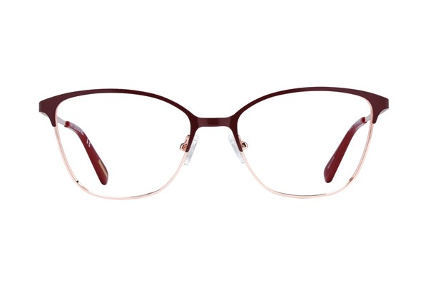 Covergirl CG0472 Red Eyeglasses