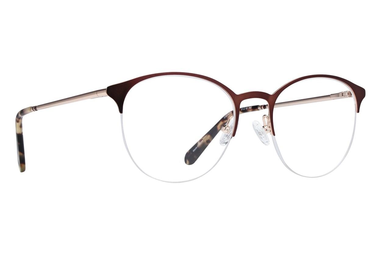 Covergirl CG0474 Brown Eyeglasses