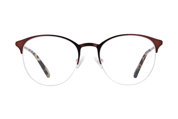 Covergirl CG0474 Brown Eyeglasses