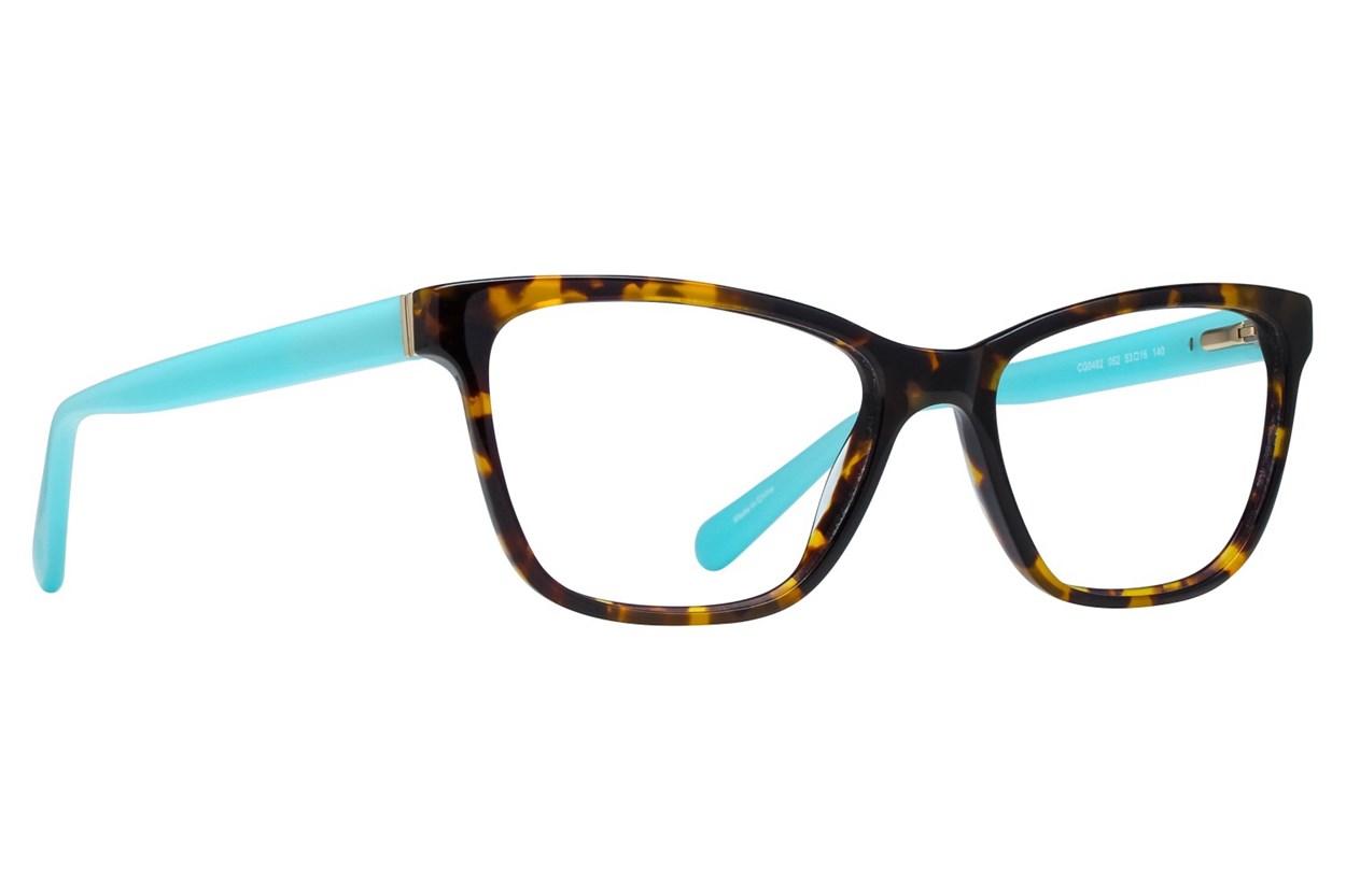 Covergirl CG0482 Tortoise Eyeglasses