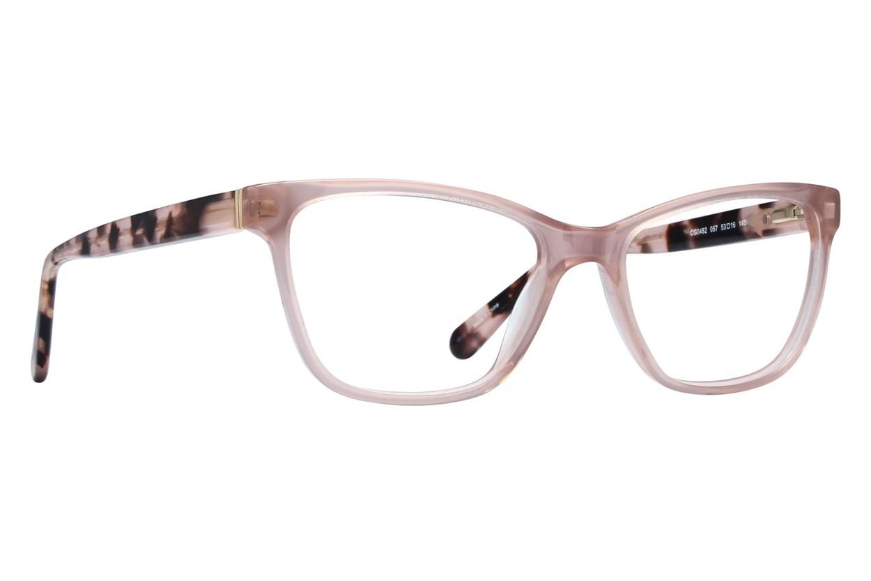 Covergirl CG0482 Tan Eyeglasses