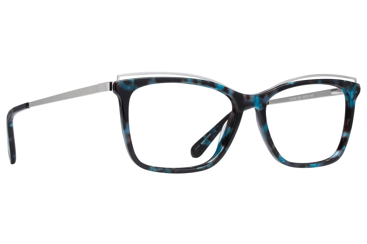 Covergirl CG4002 Blue Eyeglasses