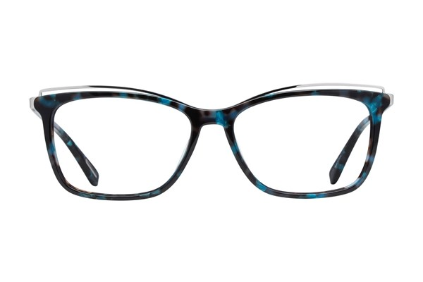 Covergirl CG4002 Eyeglasses - Blue