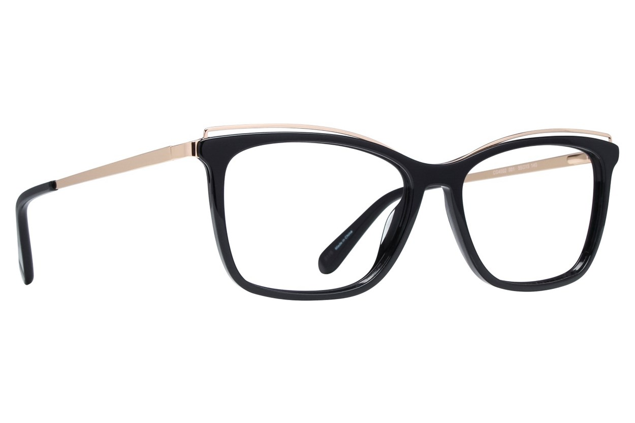 Covergirl CG4002 Eyeglasses - Black