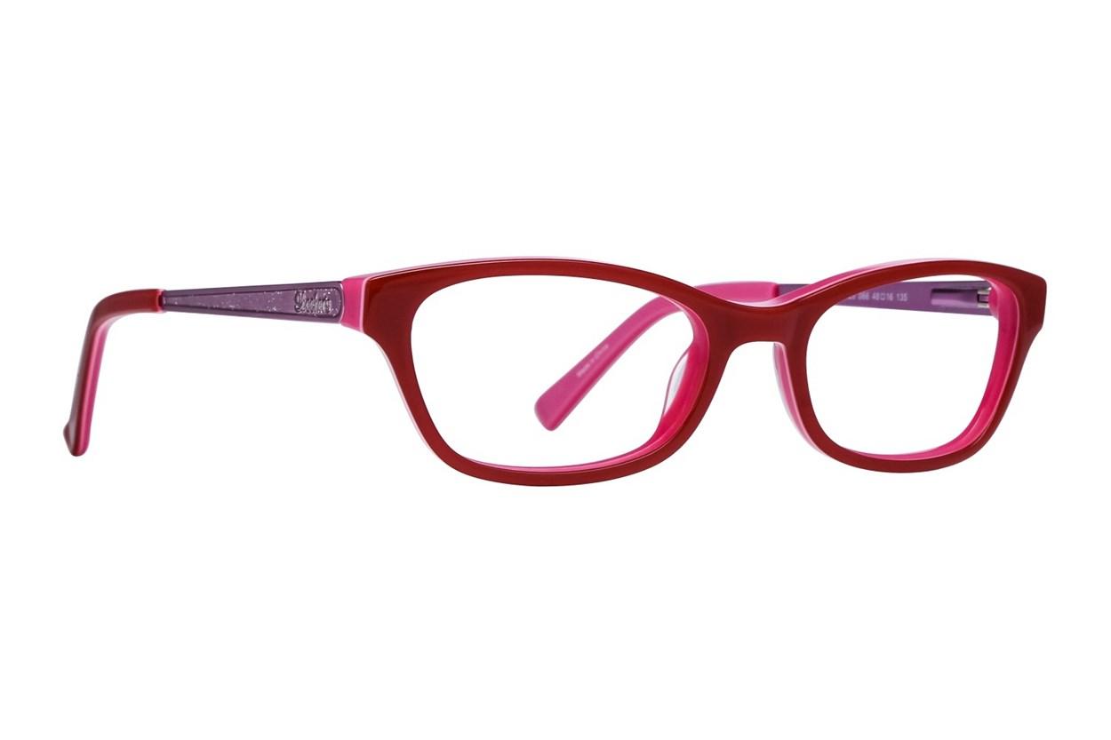 Skechers SE1623 Red Eyeglasses