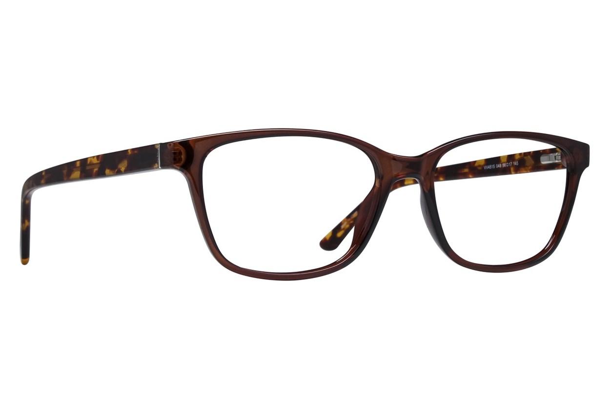 Viva VV4515 Brown Eyeglasses