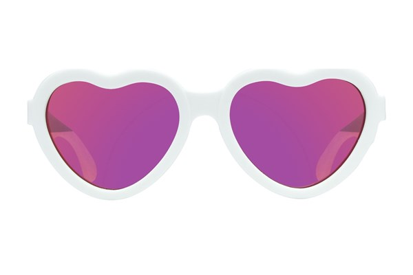 Babiators The Sweetheart White Sunglasses