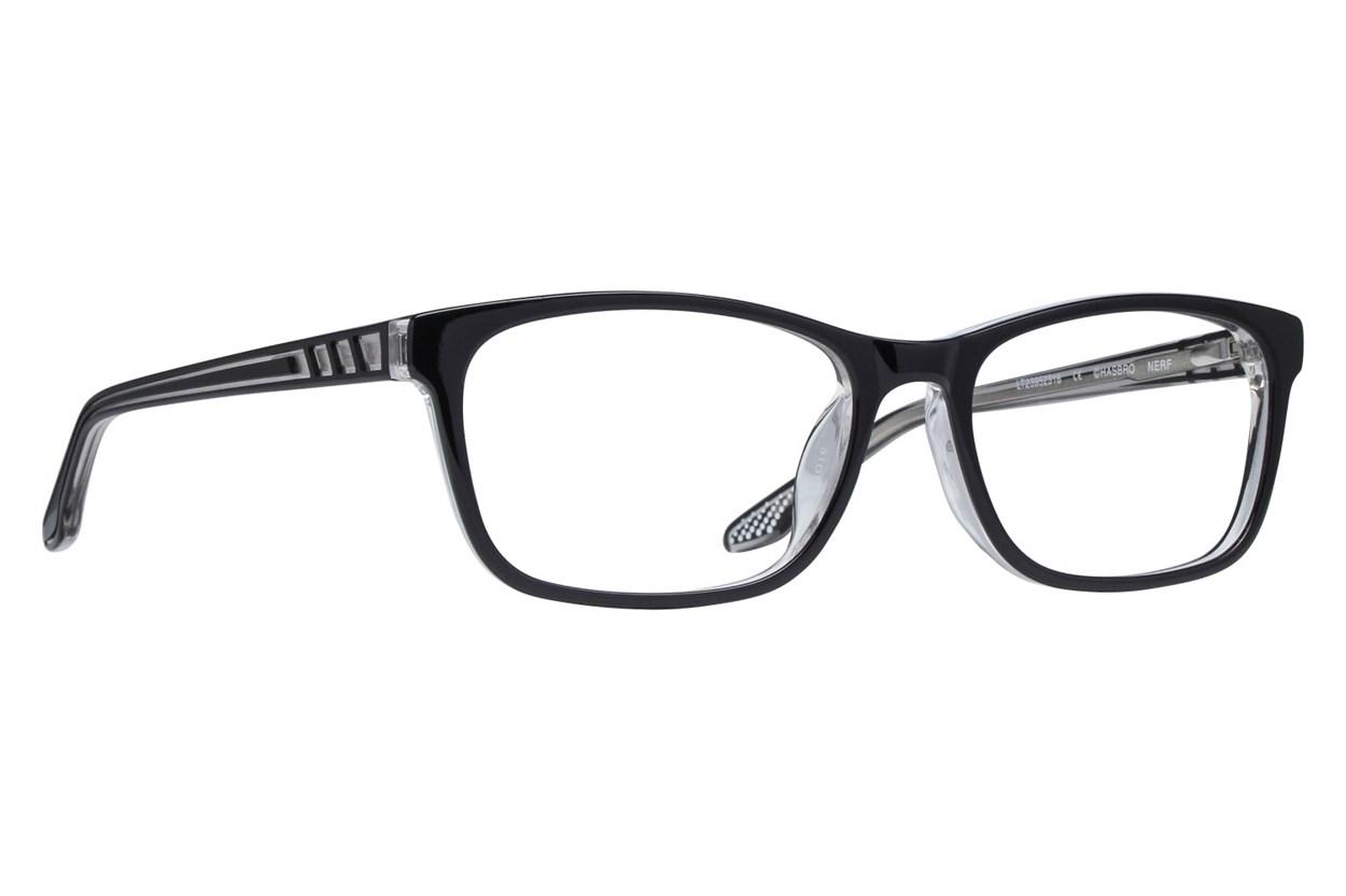 NERF Sidney Black Eyeglasses