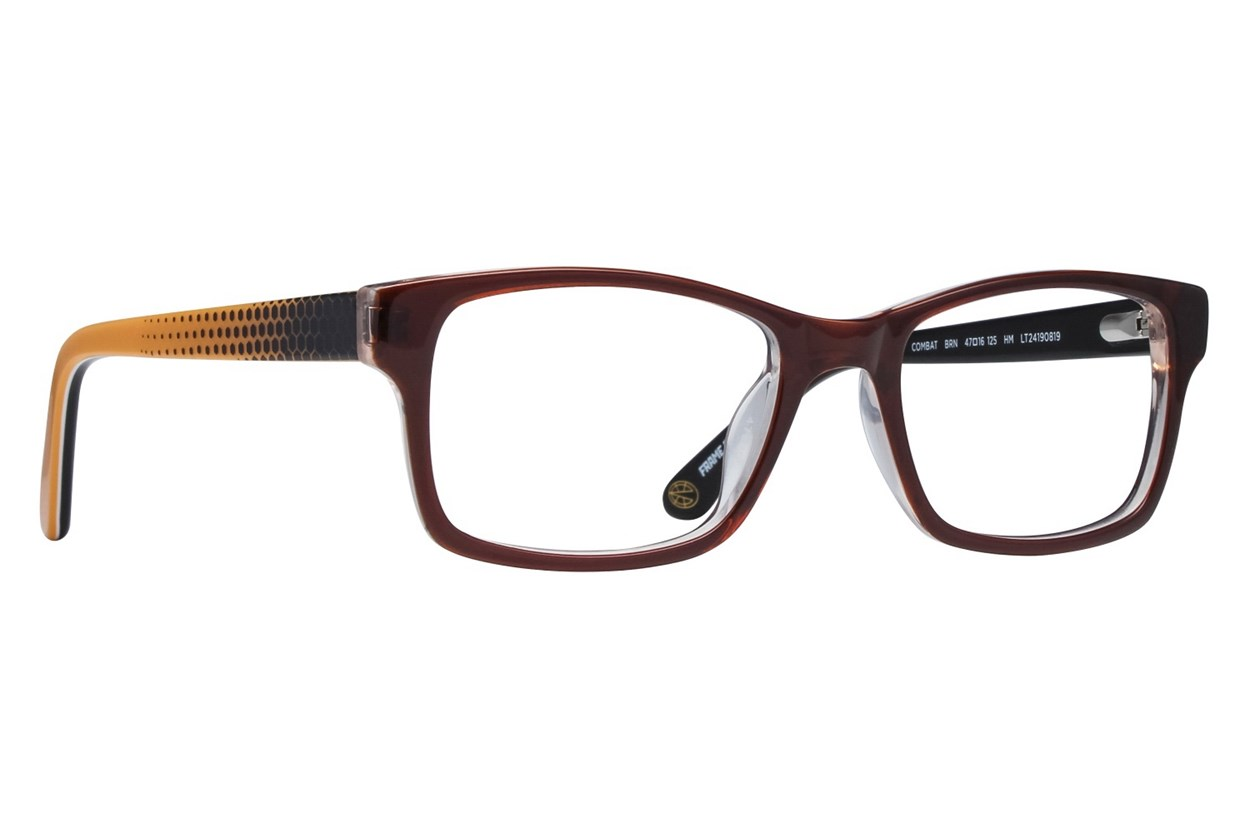 Nickelodeon Teenage Mutant Ninja Turtles Combat Brown Eyeglasses