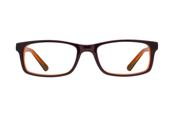 Nickelodeon Teenage Mutant Ninja Turtles Prankster Orange Eyeglasses