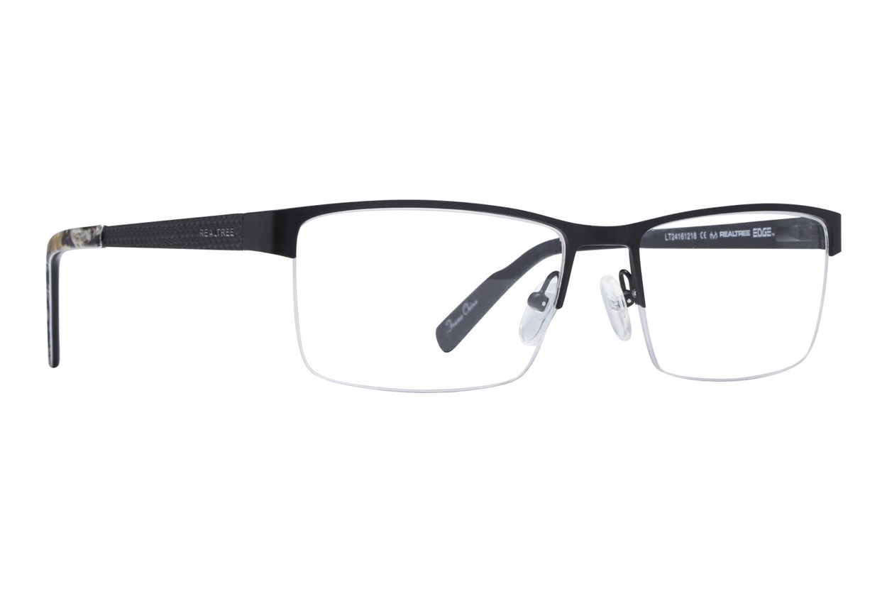 Realtree R719M Eyeglasses - Black