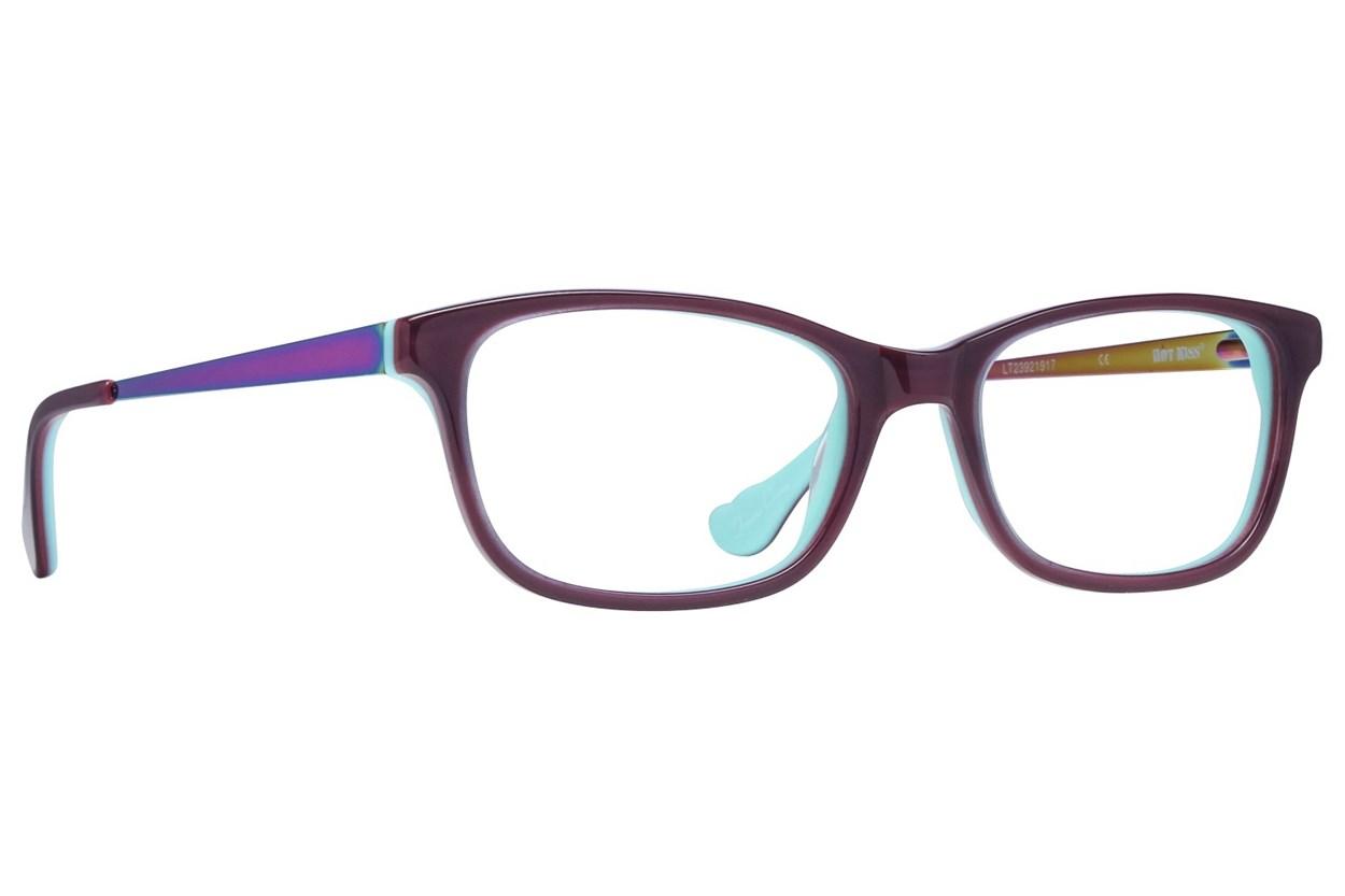 Hot Kiss HK76 Purple Eyeglasses