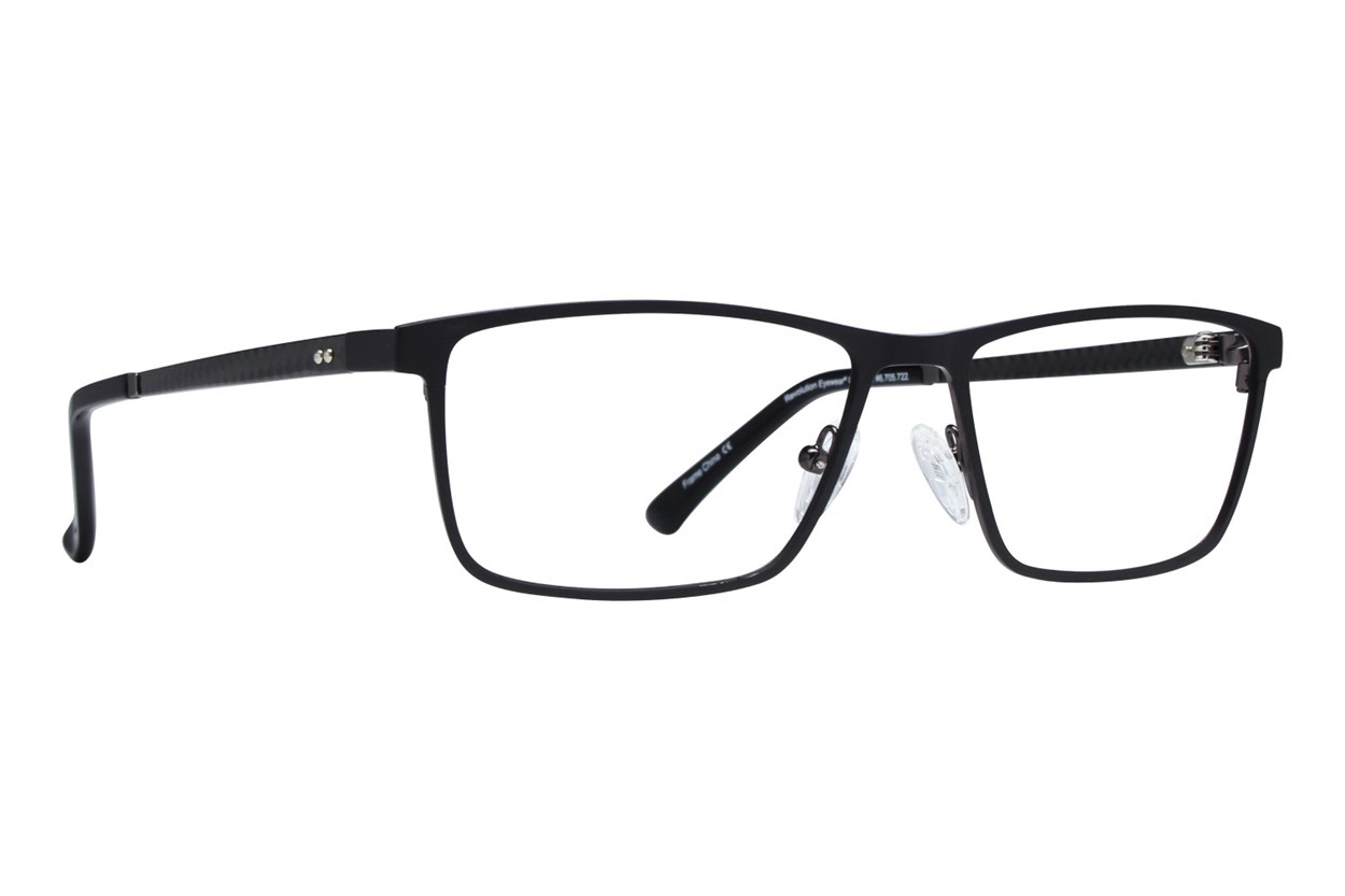 Revolution Hayward Black Eyeglasses