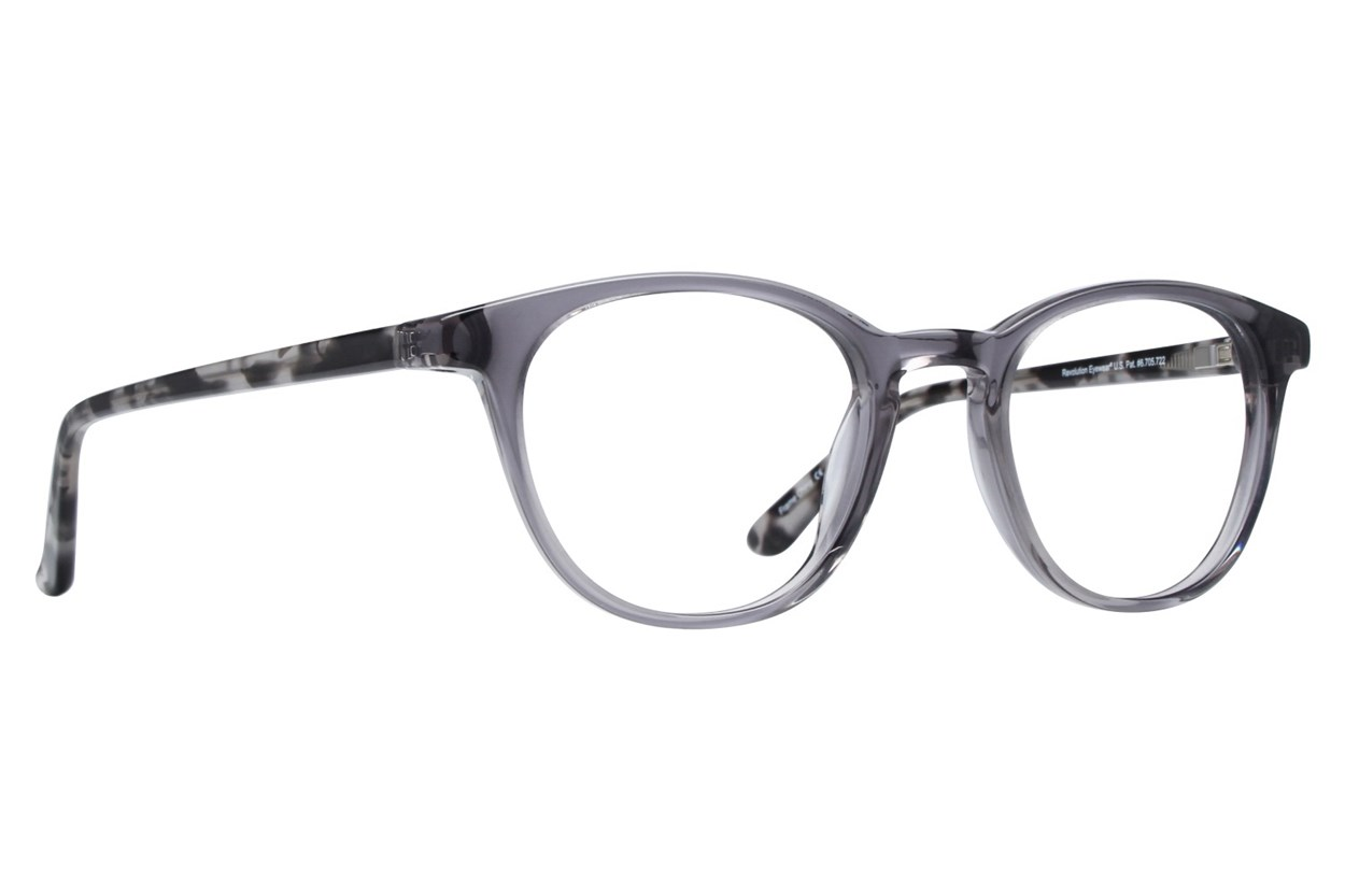 Revolution Davis Gray Eyeglasses