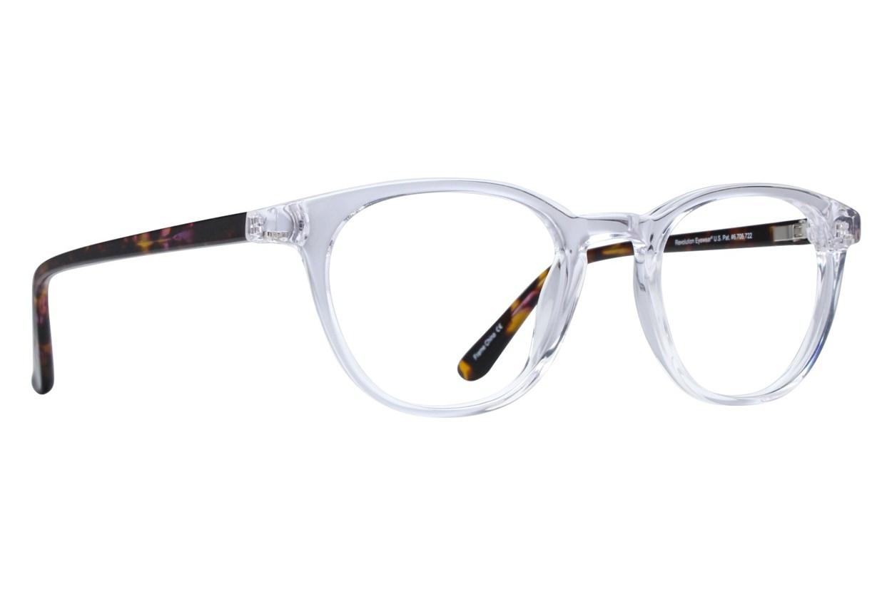 Revolution Davis Clear Eyeglasses