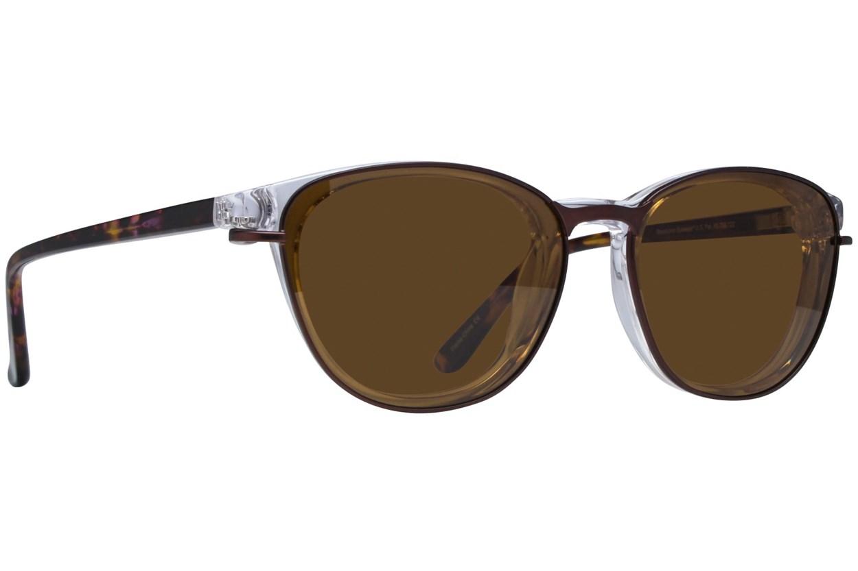 Alternate Image 1 - Revolution Davis Clear Eyeglasses