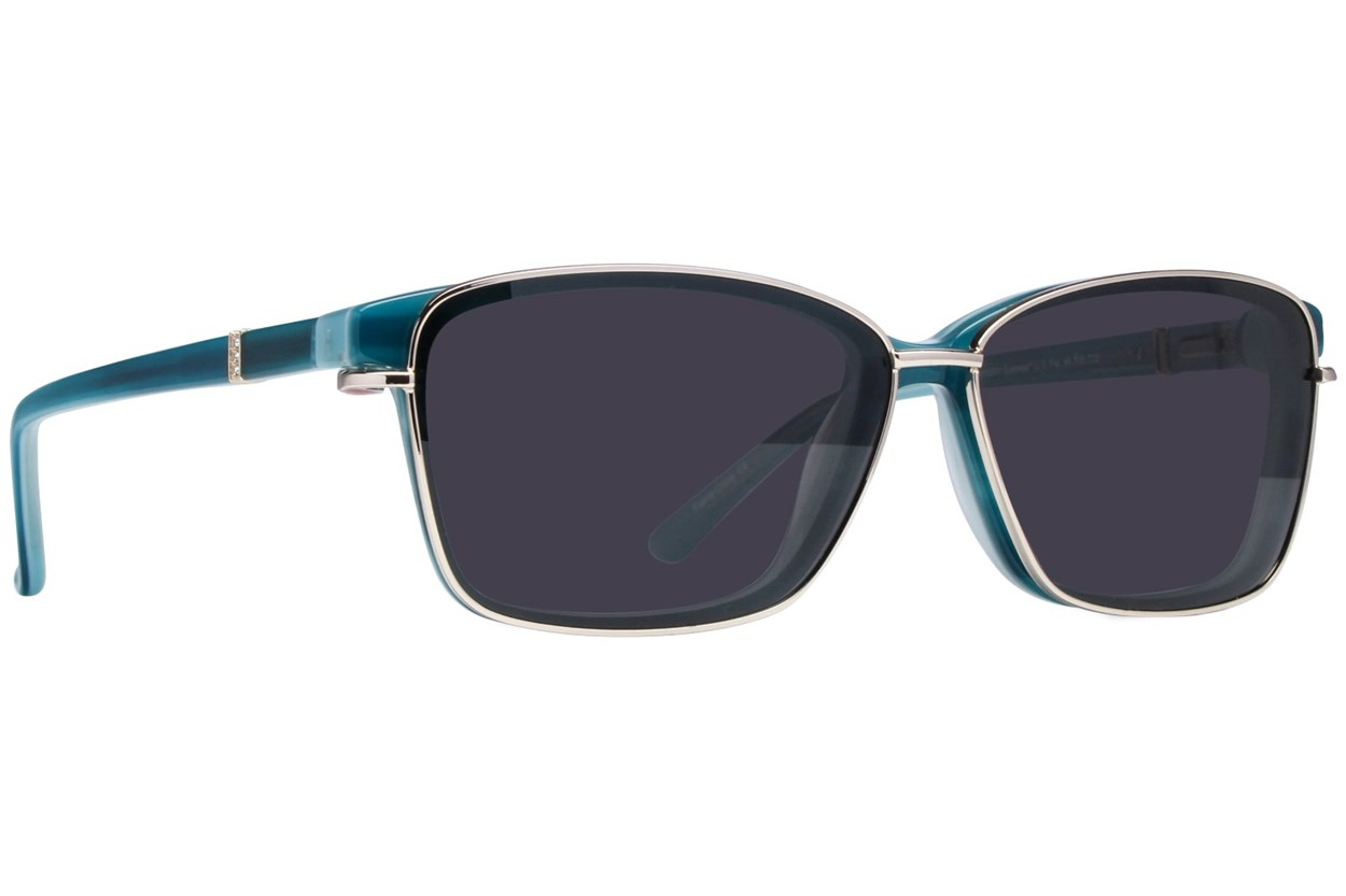 Alternate Image 1 - Revolution Ellsworth Turquoise Eyeglasses