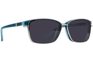 Click to swap image to alternate 1 - Revolution Ellsworth Turquoise Eyeglasses