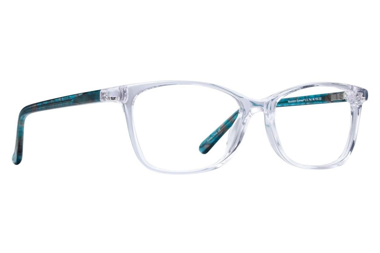 Revolution Savannah Clear Eyeglasses