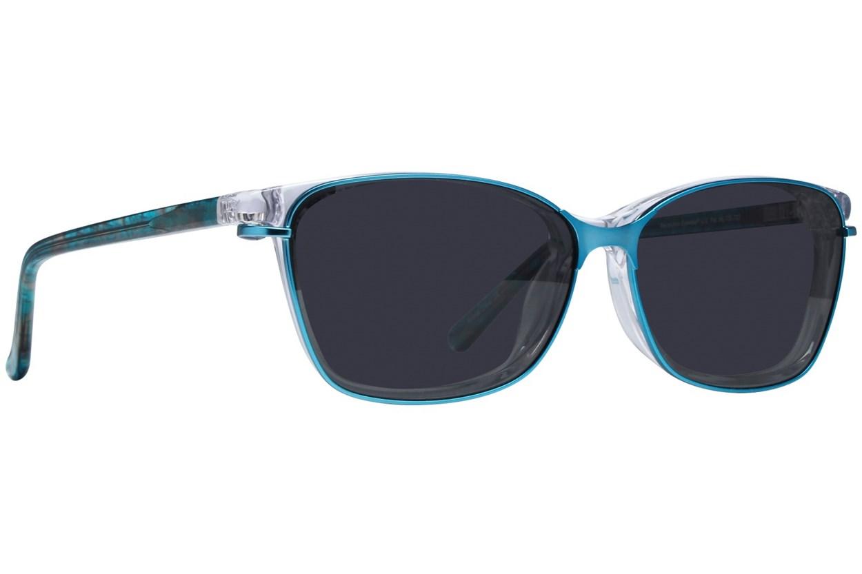 Alternate Image 1 - Revolution Savannah Clear Eyeglasses