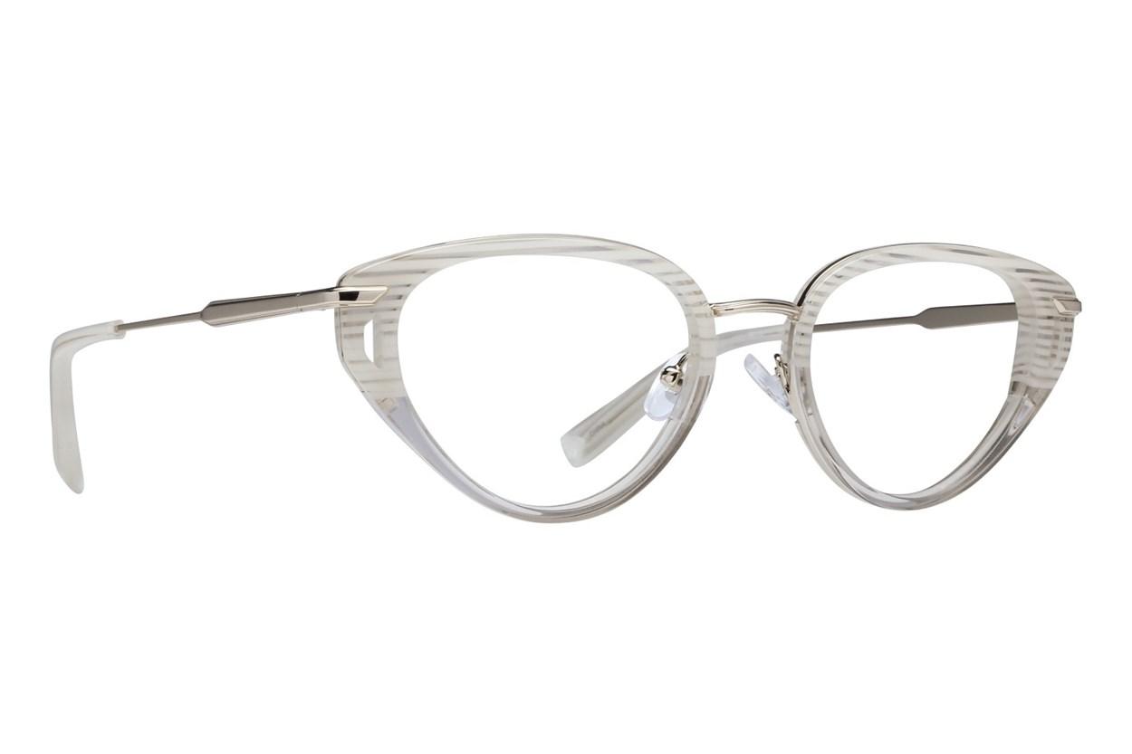 Kendall + Kylie Emilee White Eyeglasses