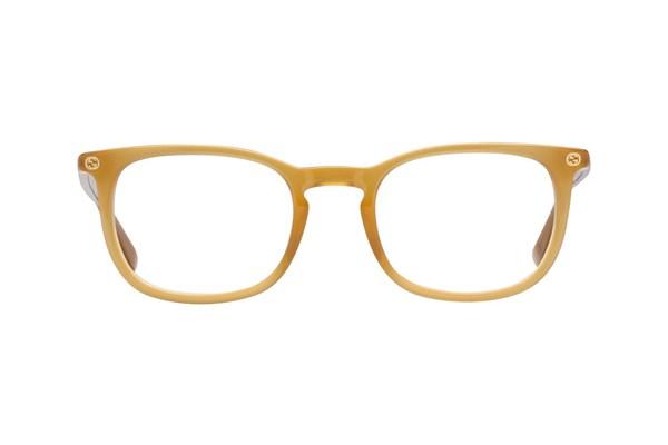 Gucci GG0122O Eyeglasses - Yellow