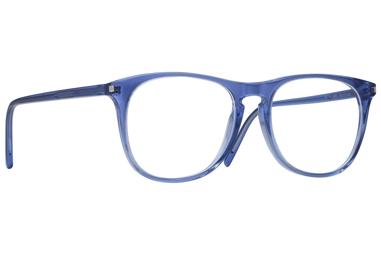 Saint Laurent SL146 Blue Eyeglasses