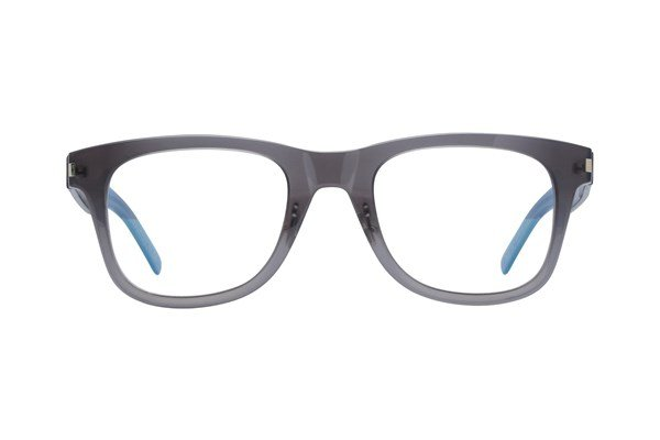 Saint Laurent SL50FSLIM Gray Eyeglasses