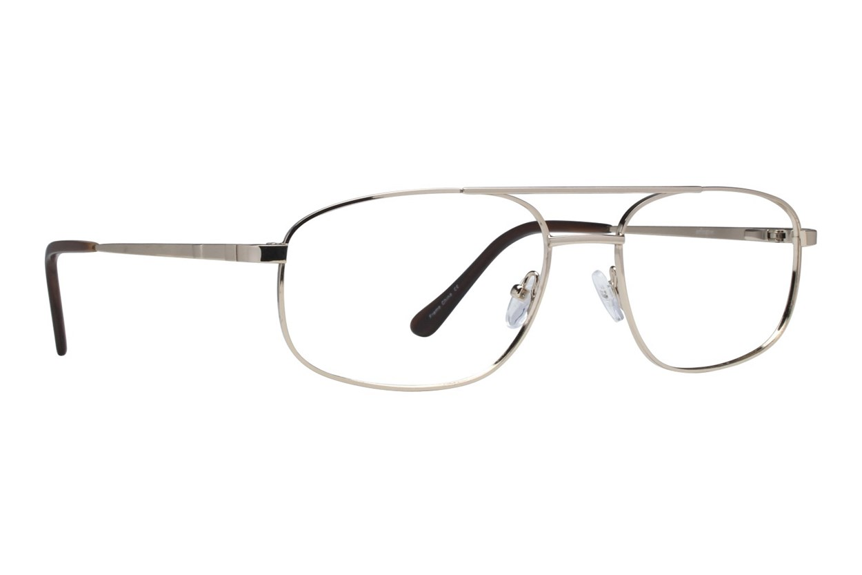 Arlington AR1054 Gold Eyeglasses
