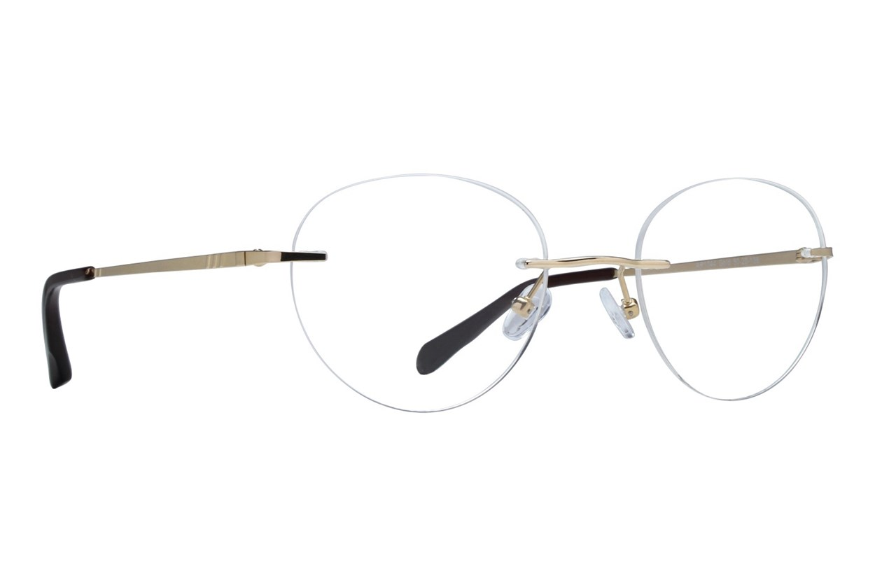 Arlington AR1044 Gold Eyeglasses