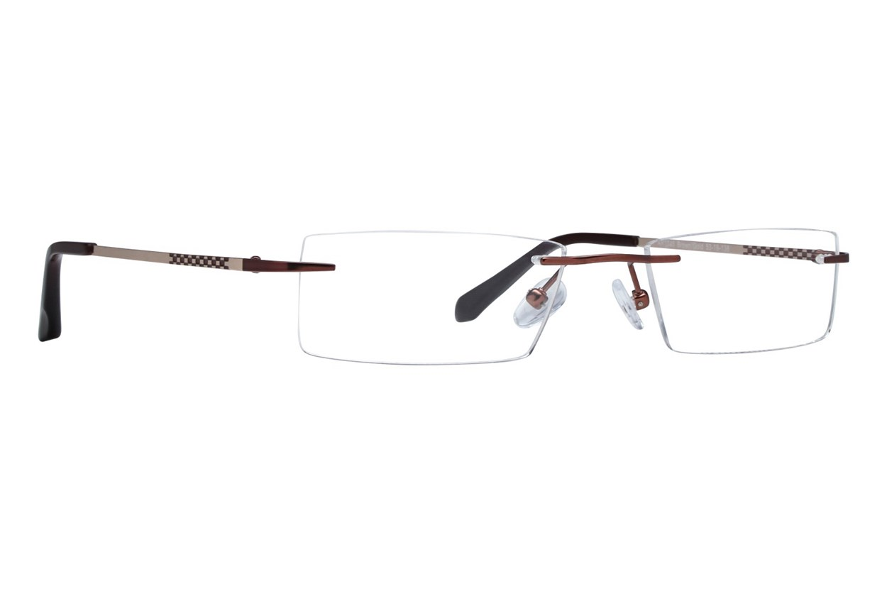 Arlington AR1045 Brown Eyeglasses
