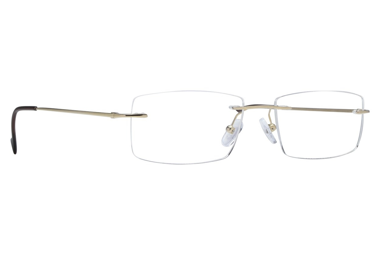 Arlington AR1046 Gold Eyeglasses