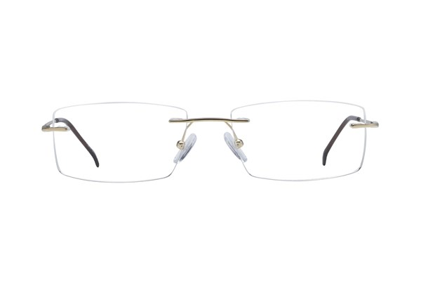 Arlington AR1046 Gold Eyeglasses