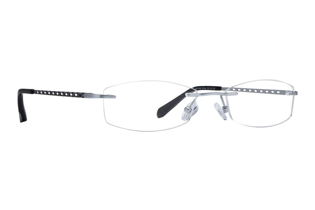 Arlington AR1048 Silver Eyeglasses