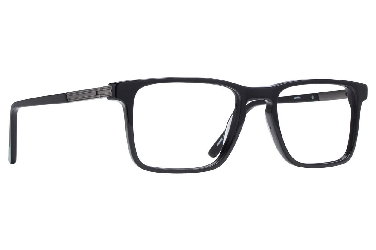 Lunettos Dante Black Eyeglasses