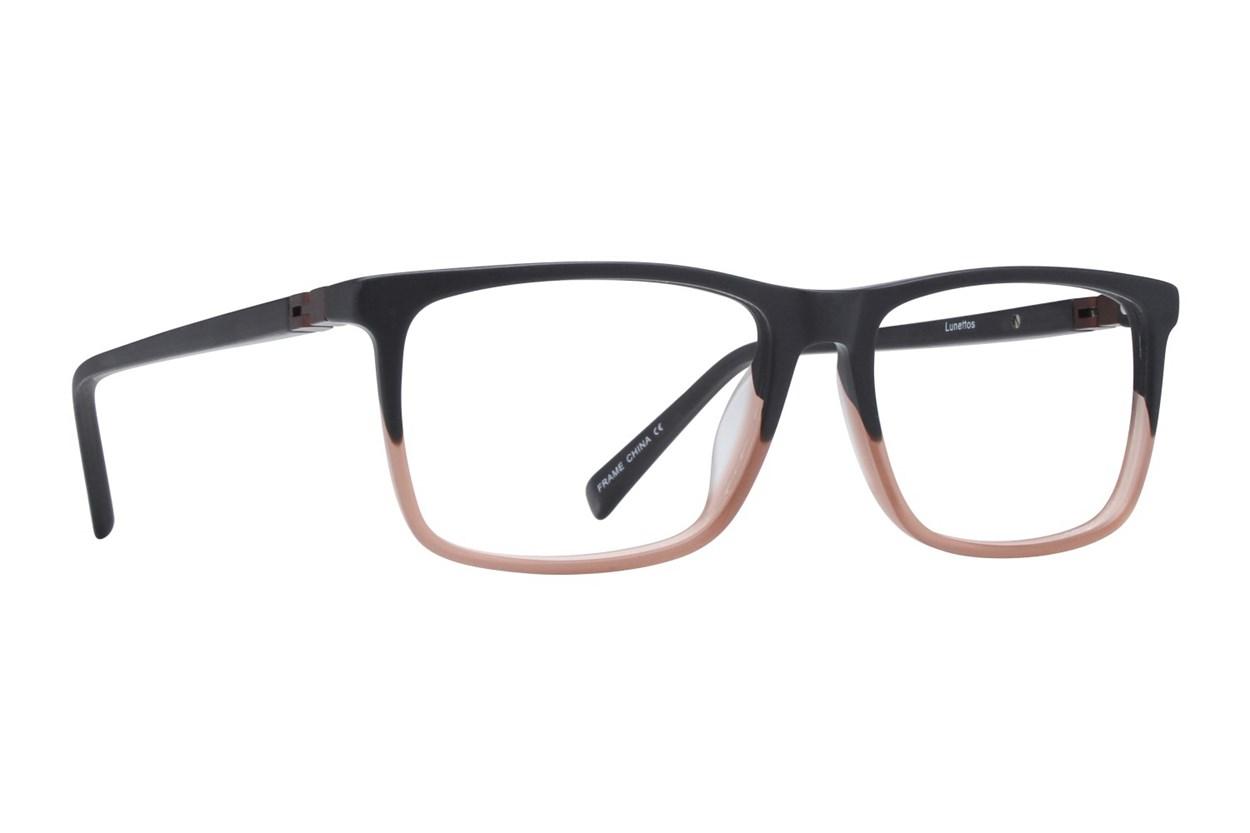 Lunettos Wyatte Black Eyeglasses