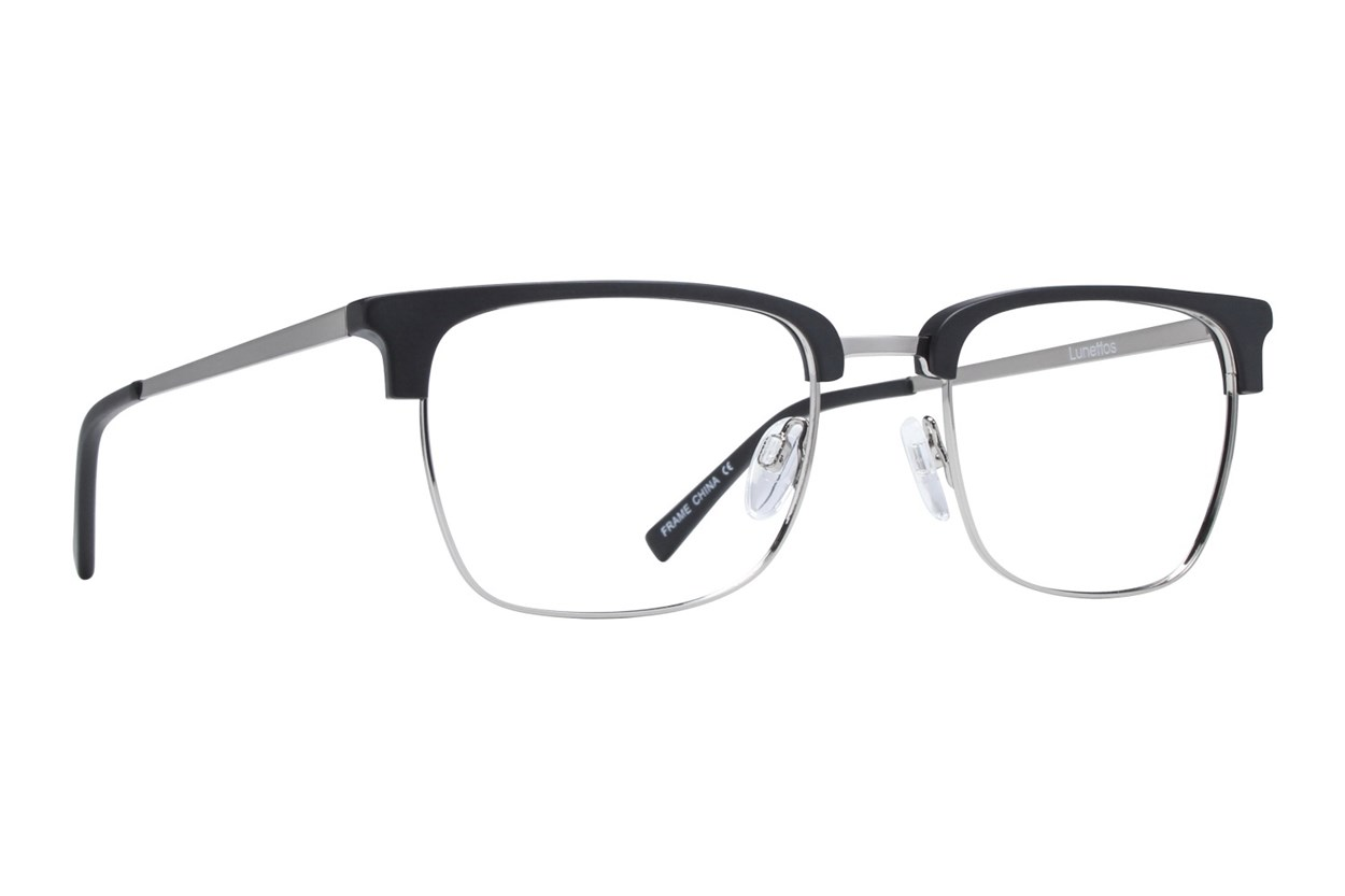 Lunettos Lupe Black Eyeglasses