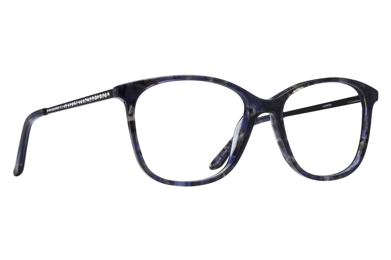 Lunettos Scarlett Blue Eyeglasses