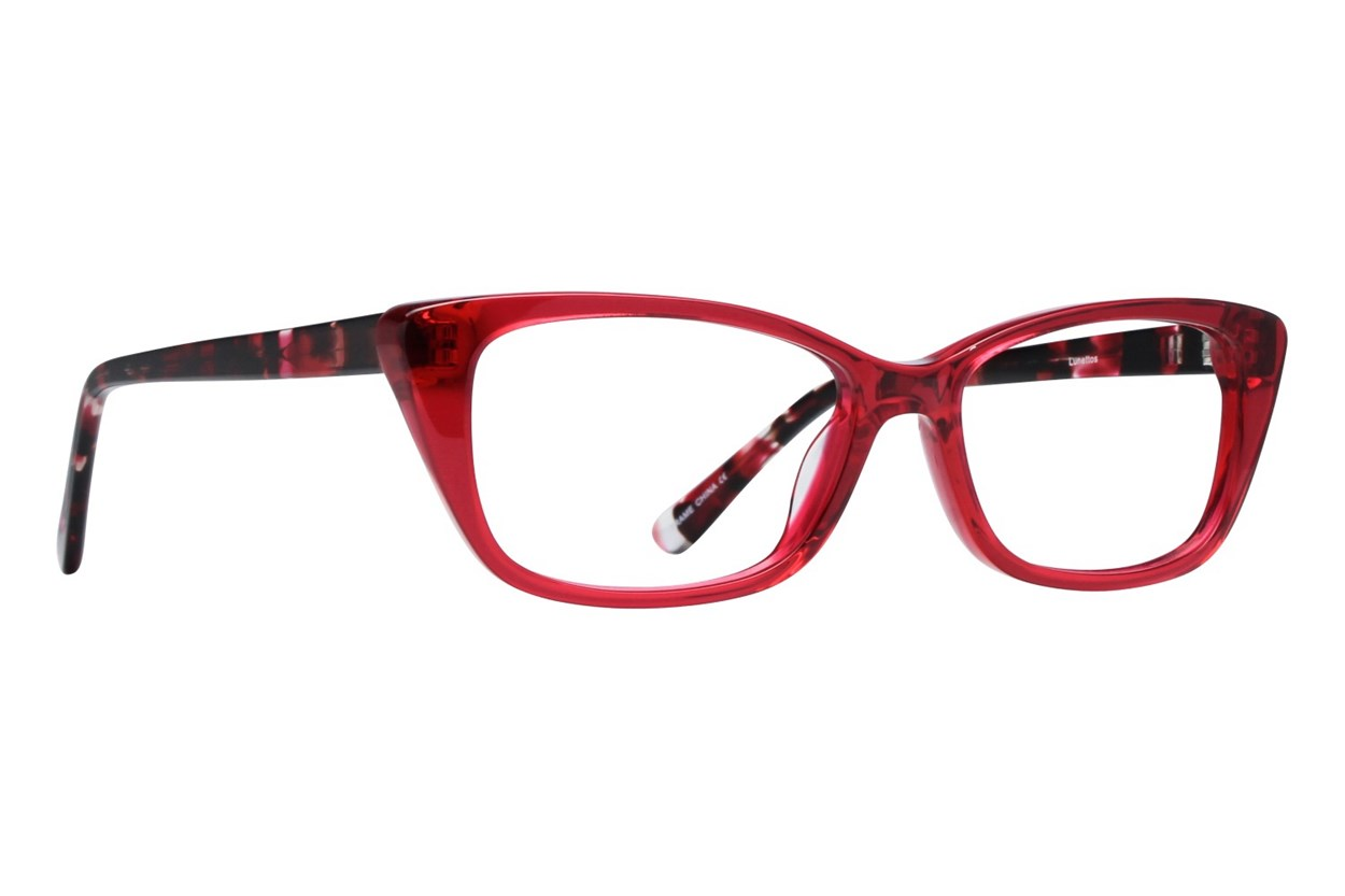 Lunettos Willow Red Eyeglasses