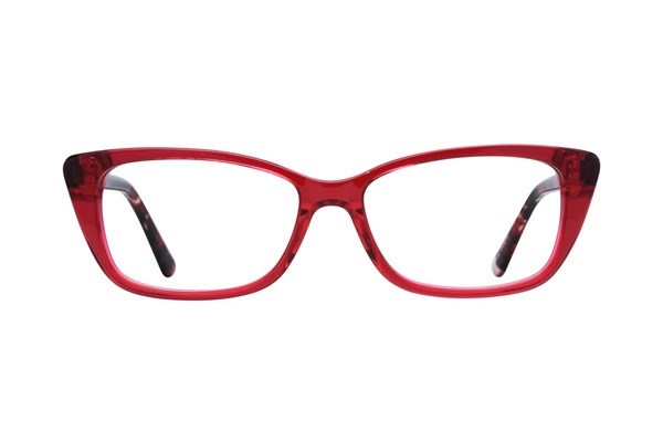 Lunettos Willow Eyeglasses - Red