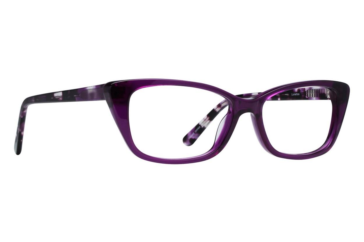 Lunettos Willow Purple Eyeglasses