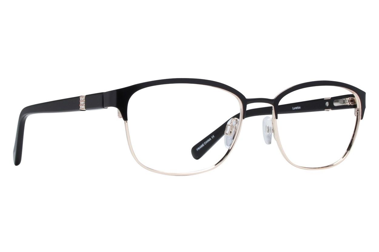 Lunettos Zara Black Eyeglasses
